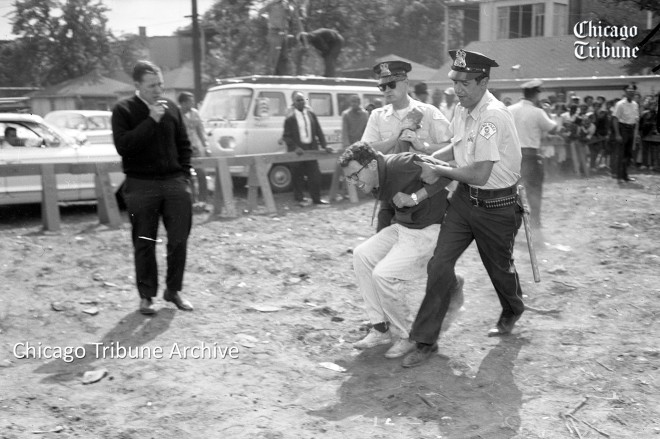 ct-bernie-sanders-1963-chicago-arrest-20160219